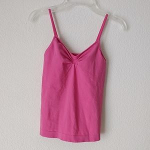 OLD NAVY Pink Bra Support Tank Top XS Gym